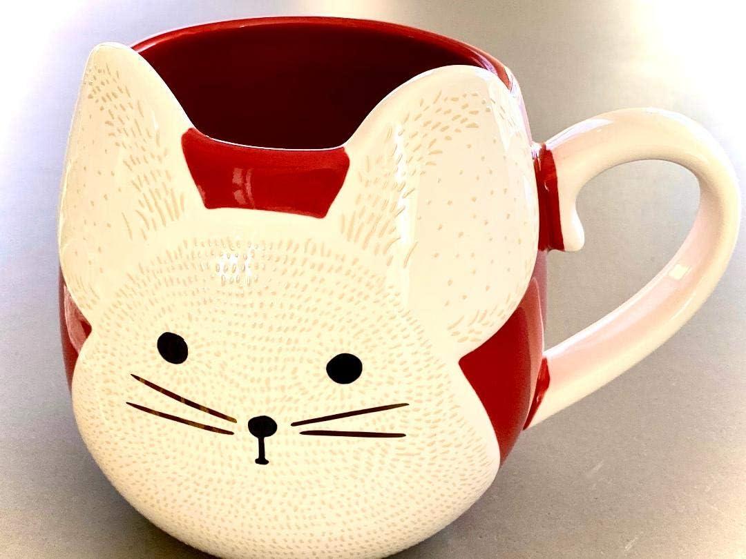 Starbucks Year Of The Rat Red Mug 14 Oz