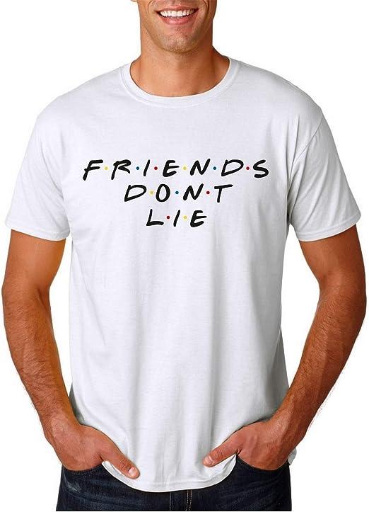 Friends Dont Lie - Camiseta Manga Corta: Amazon.es: Ropa y accesorios