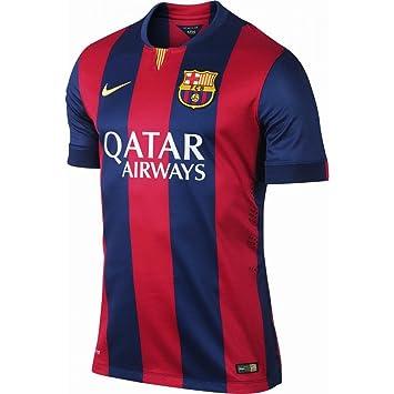 9ba0fc7a4 Nike 2014-2015 Barcelona Home Shirt (Kids)  Amazon.co.uk  Sports   Outdoors
