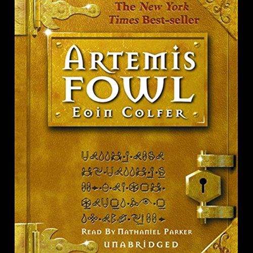 Artemis Fowl: Artemis Fowl, Book 1 cover