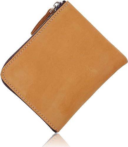 9eb07ebb94156f [Libra] 財布 本革 薄型 ウォレット L字ファスナー レザー コンパクト 小銭入れ (