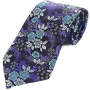 Corbata Moda Corbata de Hombre Violeta Poliéster Yarn-dyed ...
