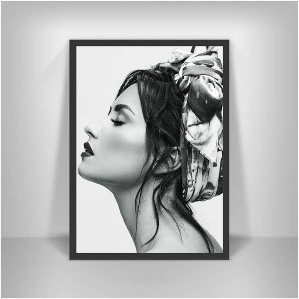 UNFIX Demi Lovato Canvas Painting Poster and Prints Wall Art Prints On The Wall for Home Wall Dorm Room Decor Gift -20x28 Inch No Frame 1 PCS