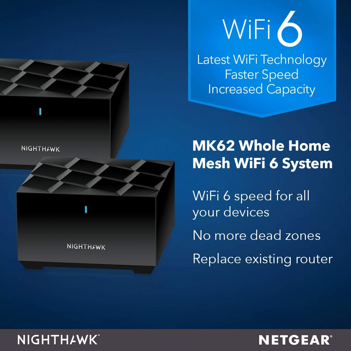 NETGEAR Nighthawk Whole Home Mesh WiFi