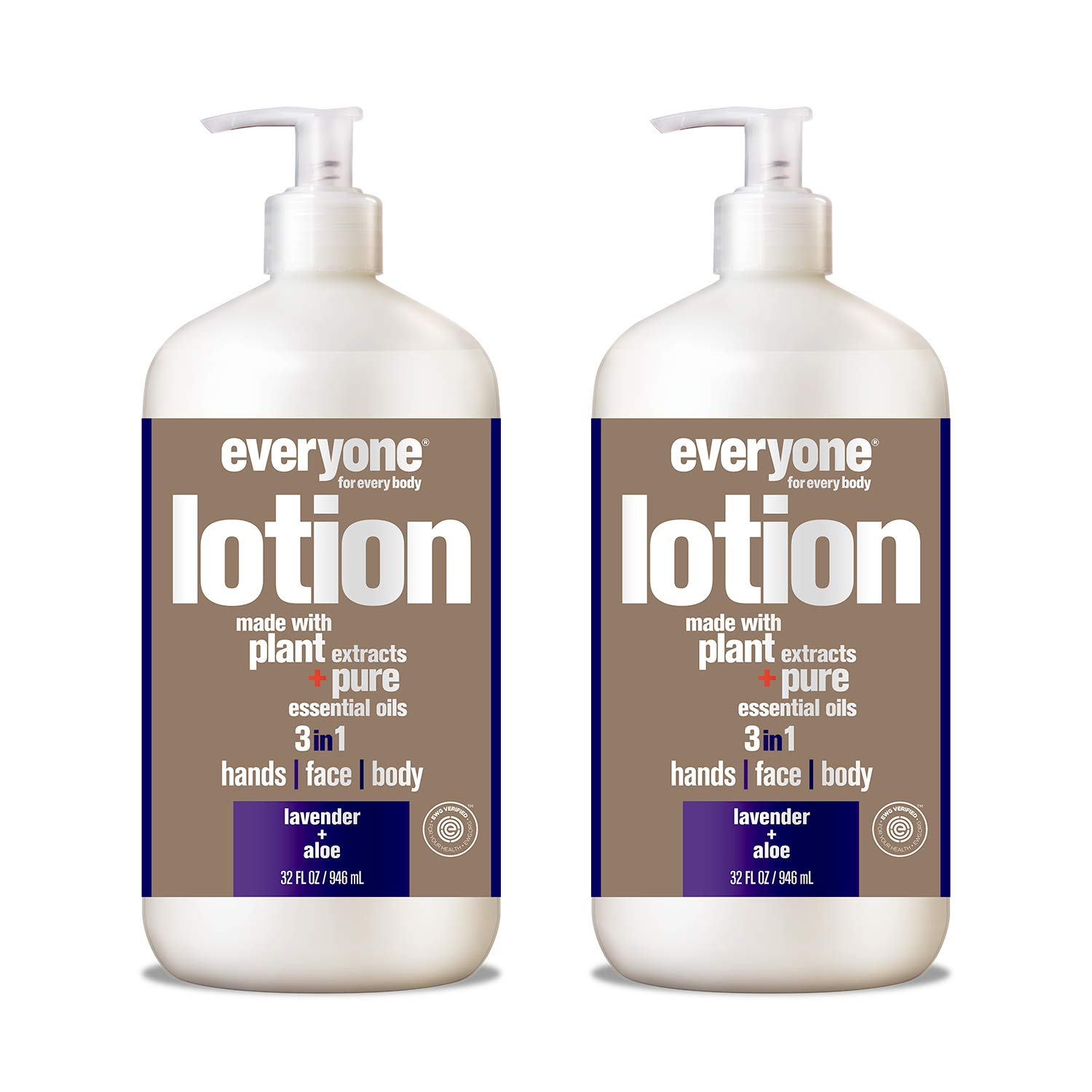 Everyone Lotion, Lavender and Aloe, 32 Fl Oz (Pack of 2) by Everyone