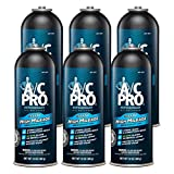 Interdynamics A/C Pro High Mileage Auto Air Conditioner Refrigerant, 134A, 12oz - 6 cans