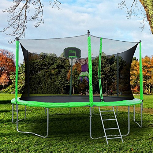 Review of the Merax 12-Feet Round Trampoline with Safety Enclosure