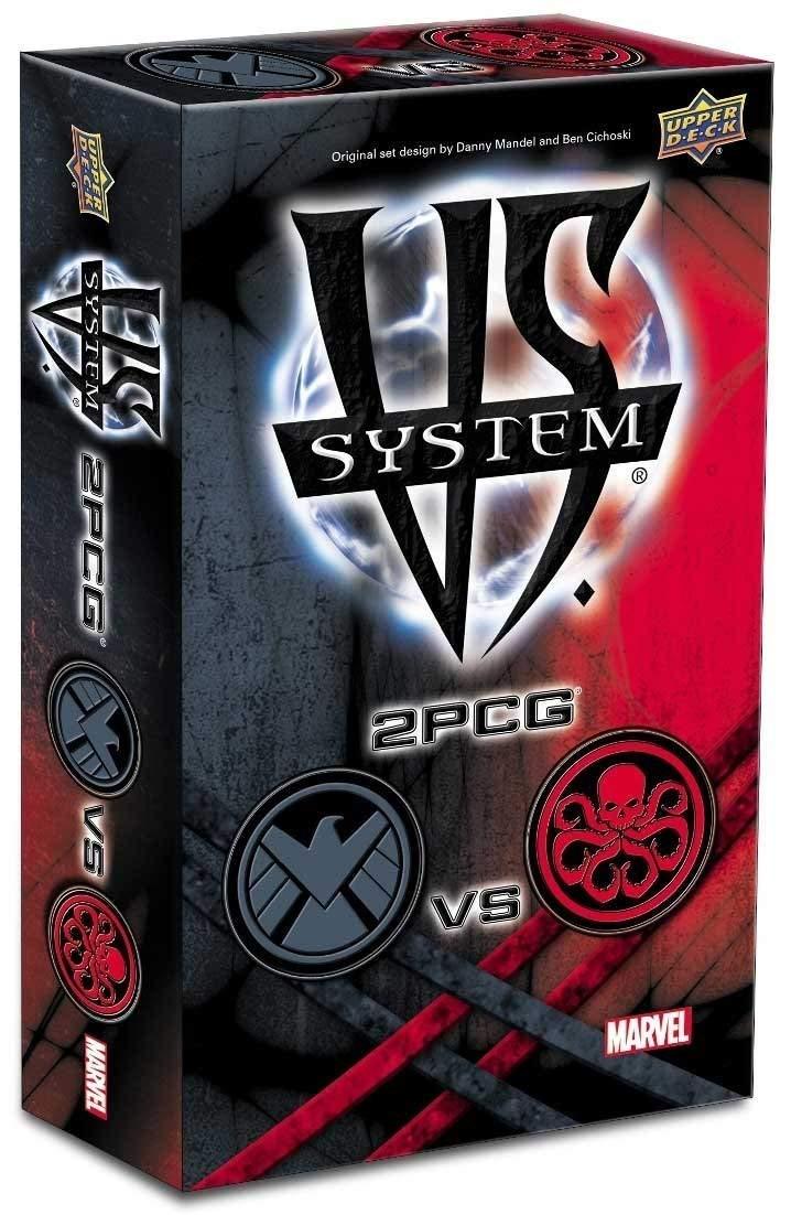 S.H.I.E.L.D vs Hydra Upper Deck UDC89024 2PCG VS System