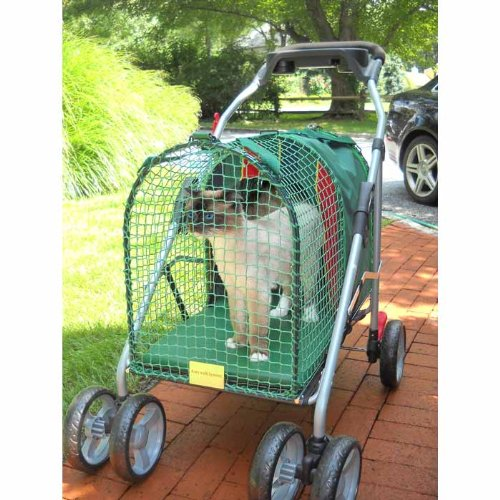 SUV Pet Stroller Color: Emerald by Kittywalk
