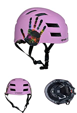 Casco de Bicicleta,Casco,Mountain Bike Adulto Skateboard Cascos, Cascos Ciclismo, Patinaje