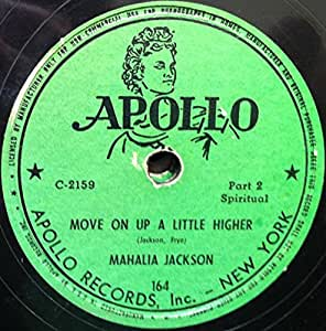 MAHALIA JACKSON MOVE ON UP A LITTLE HIGHER vinyl record