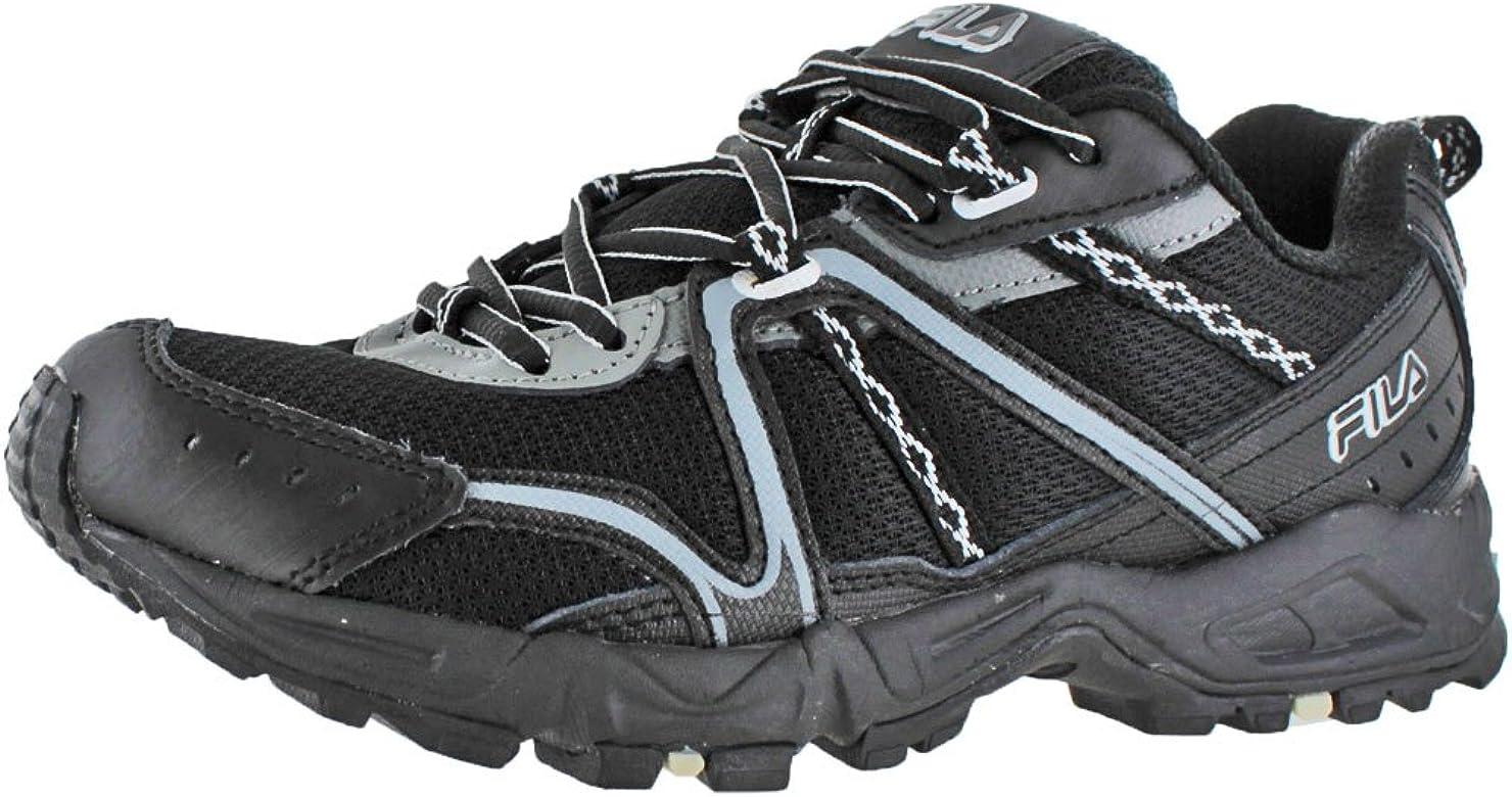 Fila Mens Ascent 12 Trail Running Shoe, Black/Castle Rock/Metallic Silver, 10 M US: Amazon.es: Zapatos y complementos