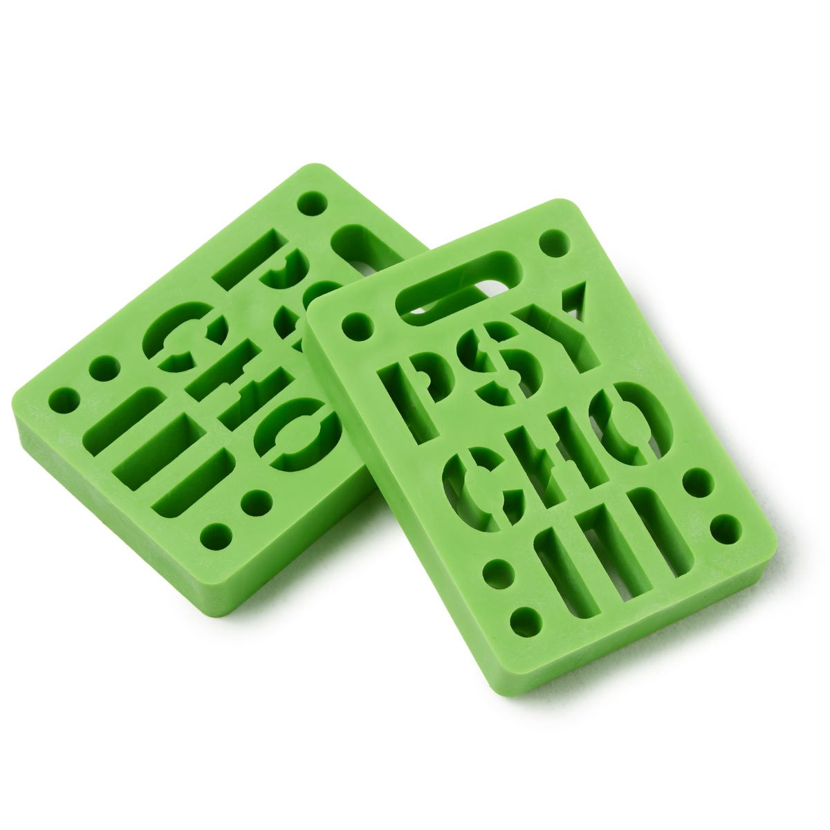 Psycho 2 Pack Risers - Green - 1/2''
