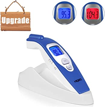 Infrared Forehead Thermometer Instant Read Non Contact For Baby Kids /& Adults