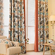 Teal And Yellow Curtains