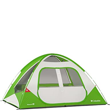 Columbia Sportswear Pinewood 6 Person Dome Tent (Fuse Green)  sc 1 st  Amazon.com & Amazon.com: Columbia Sportswear Pinewood 6 Person Dome Tent (Fuse ...
