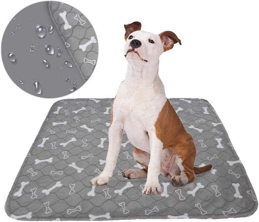 Almohadillas de orina lavables para perros, reutilizables, para entrenamiento de cachorros, almohadillas absorbentes, protector de colchón para entrenamiento de orinal, incontinencia, viajes