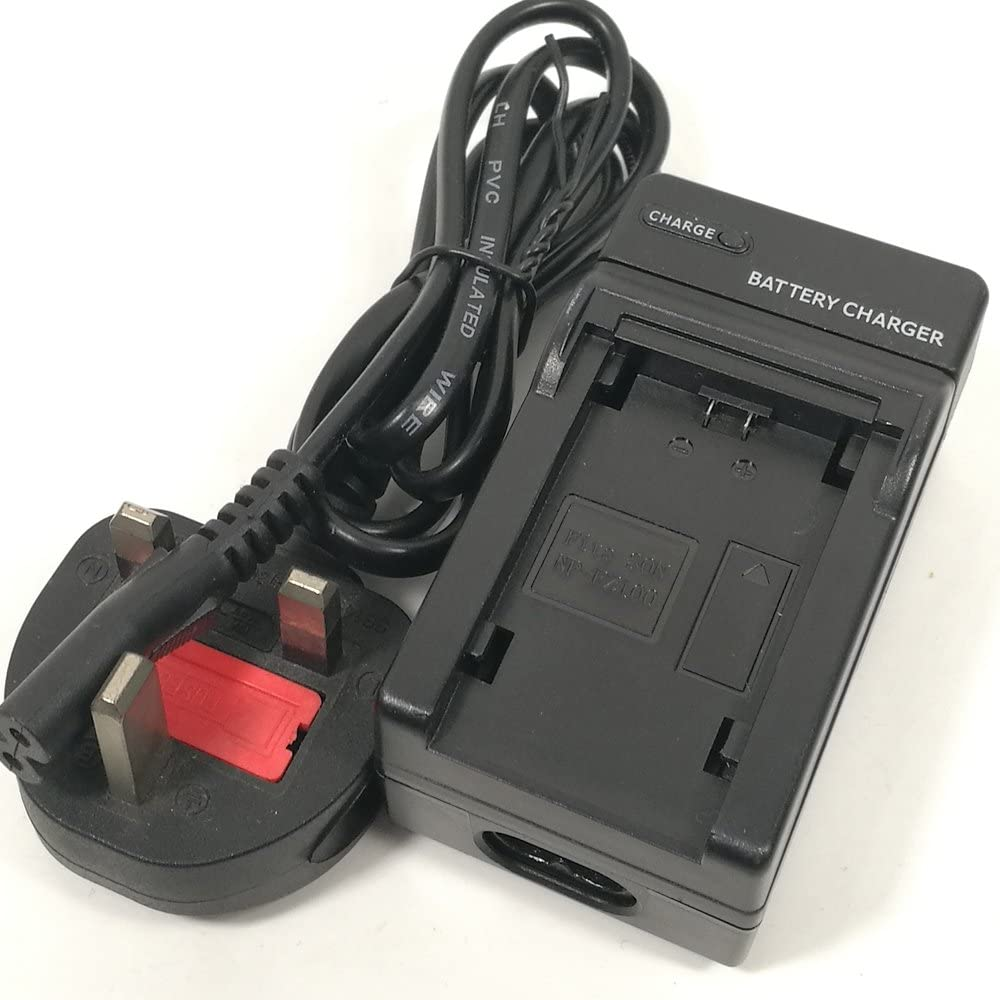 NP-FZ100 Battery Charger AC//DC Single for Sony NPFZ100 BC-QZ1 A7RM3 A7R III ILCE-A9 ILCE-9 ILCE9 Z Series Digital Camera