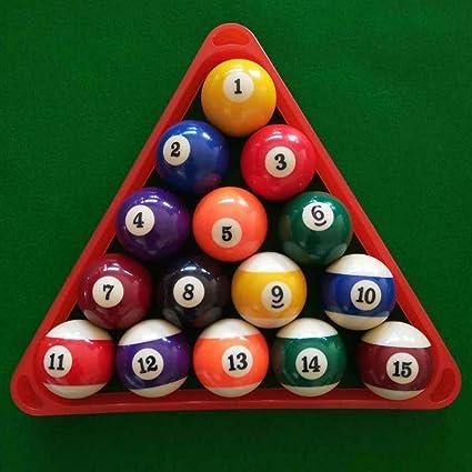 F Fityle Billar Talley Shaker Bottle (Kelly/Pool) con 16 Bolas + Triángulo Estanca Colectora para Bolas de Resina, Pool Triangle Billar Snooker con Marcos: Amazon.es: Deportes y aire libre