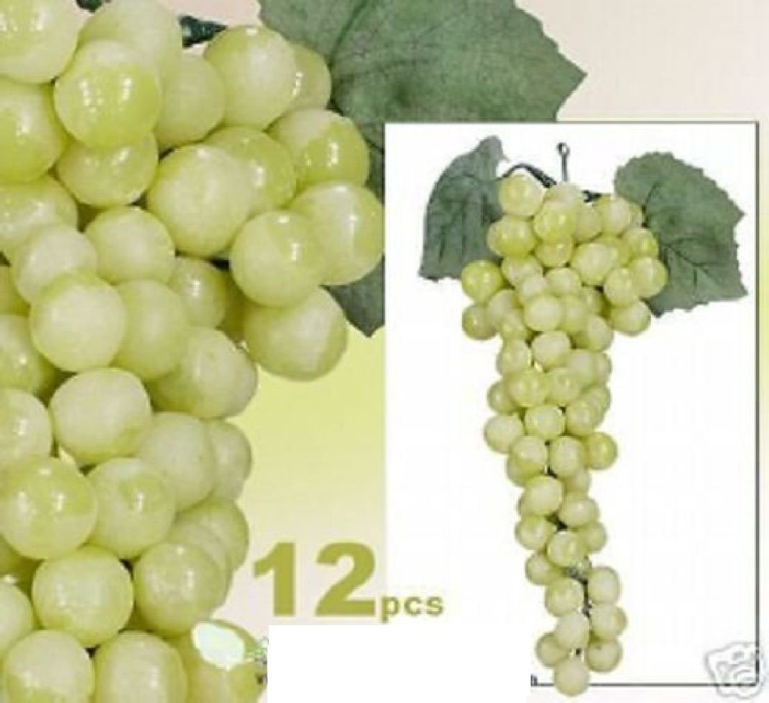 LOT OF 1080 Grape Artificial Fruit Home Garden Decor GR