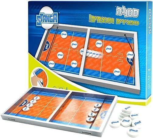 EDED Hockey, futbolín Mesa de Interior Deportes Gaming Set Juega como una Bola renju en la