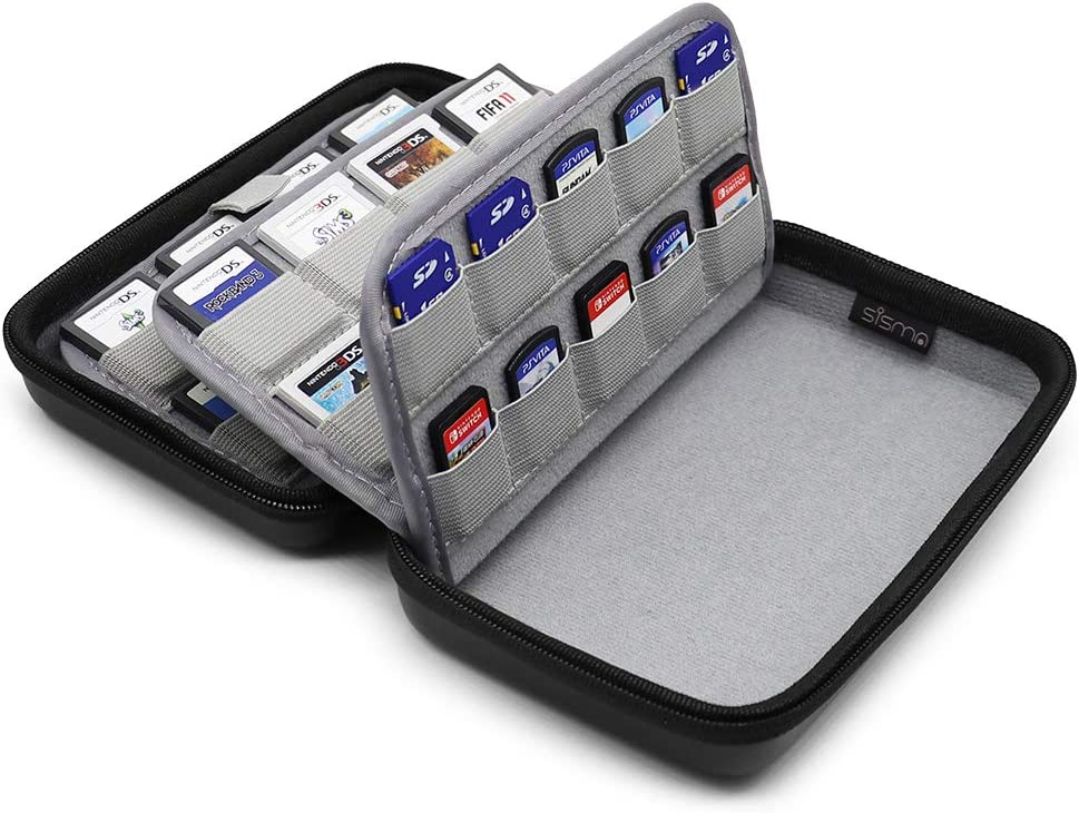 Amazon.com: Sisma 72 Game Cartridge Holders Storage Case for ...