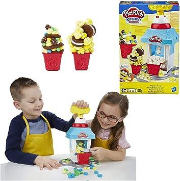 Play-Doh Fábrica De Palomitas (Hasbro E5110EU4): Amazon.es ...