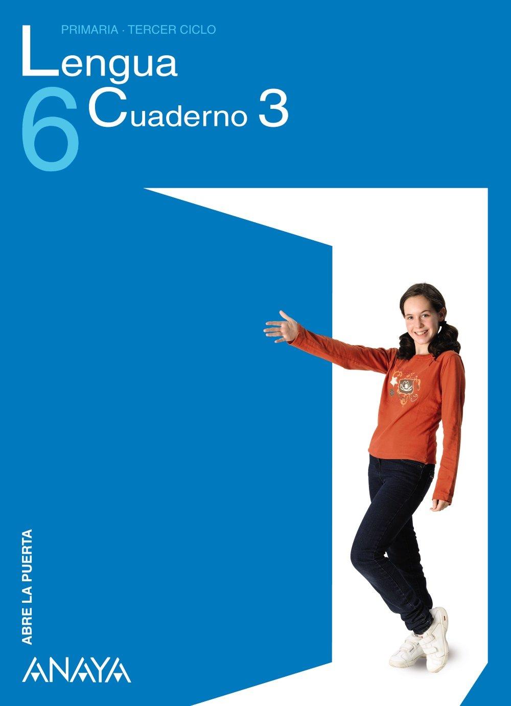 Lengua 6. Cuaderno 3. (Spanish) Stationery – June 11, 2009
