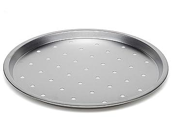Bandeja para horno de pizza de 30 cm: Amazon.es: Hogar