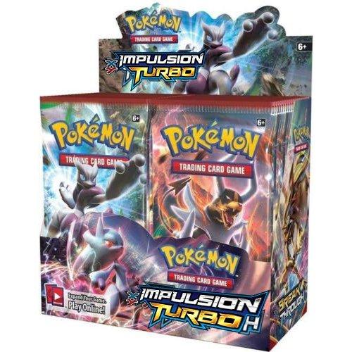 Pokémon - Jeux de Cartes - Boosters Français - Boite De 36 Boosters Xy - Impulsion Turbo: Amazon.es: Juguetes y juegos