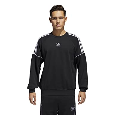 adidas Men's Originals Pipe Sweatshirt BlackWhite ce4832
