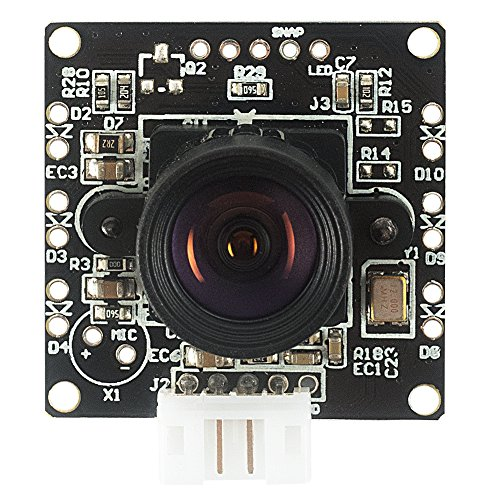 Spinel VGA USB Camera Module OV7725 with Non-distortion Lens FOV 95 degree, Support 640x480@60fps, UVC Compliant, Support most OS, Focus Adjustable, UC03MPA_ND by Spinel (Image #1)