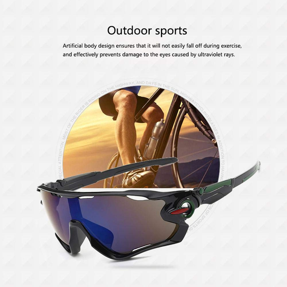 Gafas de sol deportivas para ciclismo, polarizadas ...