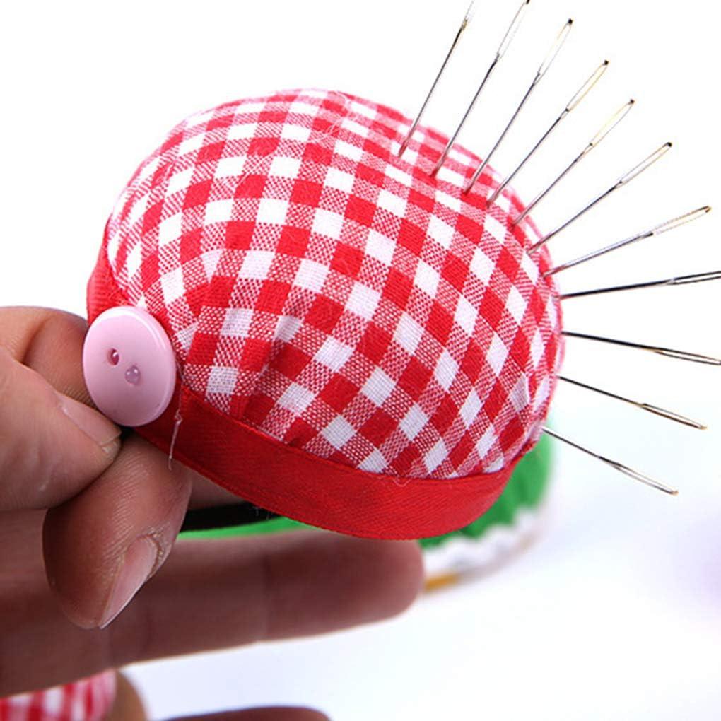 Ben-gi Mousse en Forme de Boule Aiguille Pin Coussin avec Ceinture /élastique Poignet Bricolage Outil pour Artesanat Point de Croix Couture
