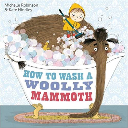 Image result for how to wash a woolly mammoth instructions text map tfw