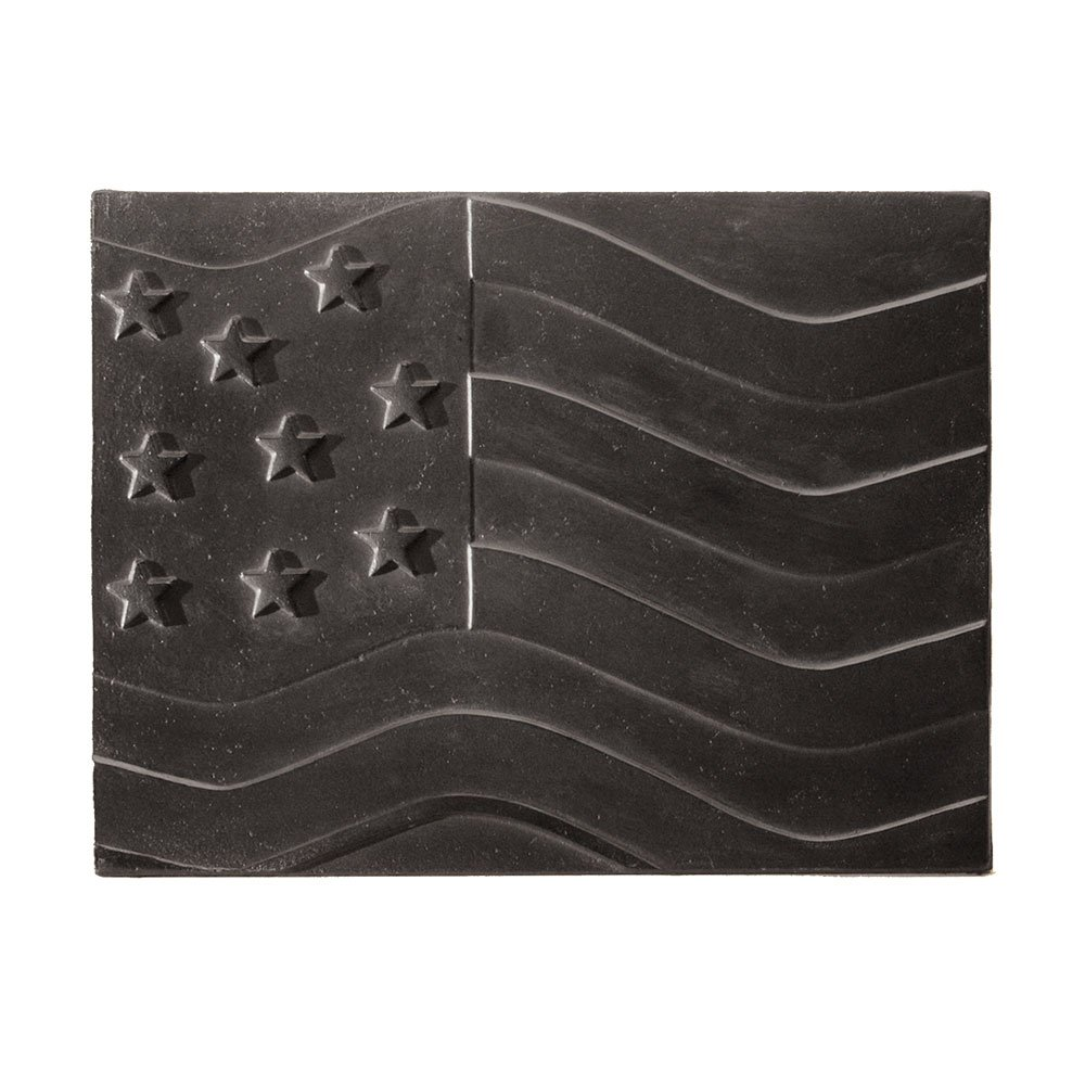 Minuteman International American Flag Cast Iron Fireback by Minuteman International