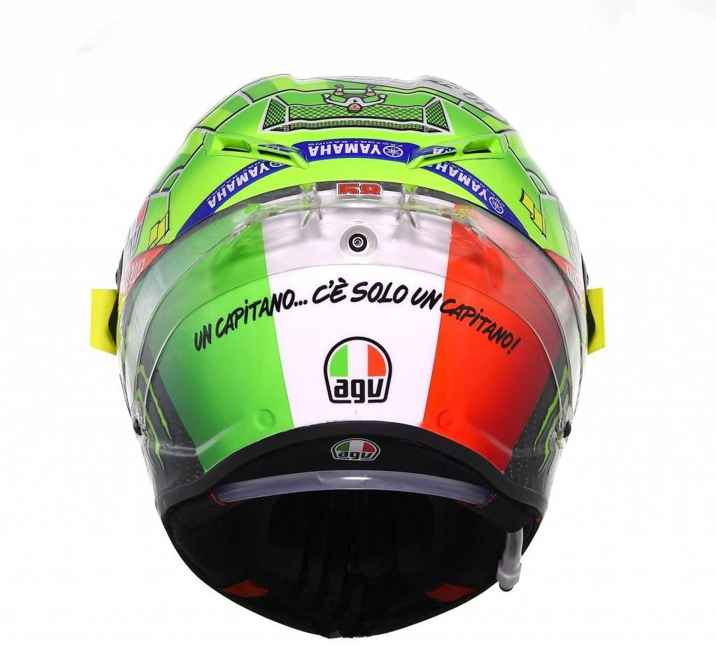 Amazon.com: AGV Pista GP Limited Edition Mugello 2017 Street Motorcycle Helmet - Multicoloured / Medium/Large: Automotive