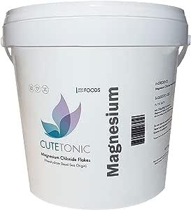 Cutetonic® Hojas de cloruro de magnesio ultra puro, origen del mar ...