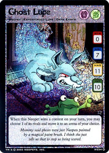 Neopets Trading Card Game Holofoil Rare Single ()