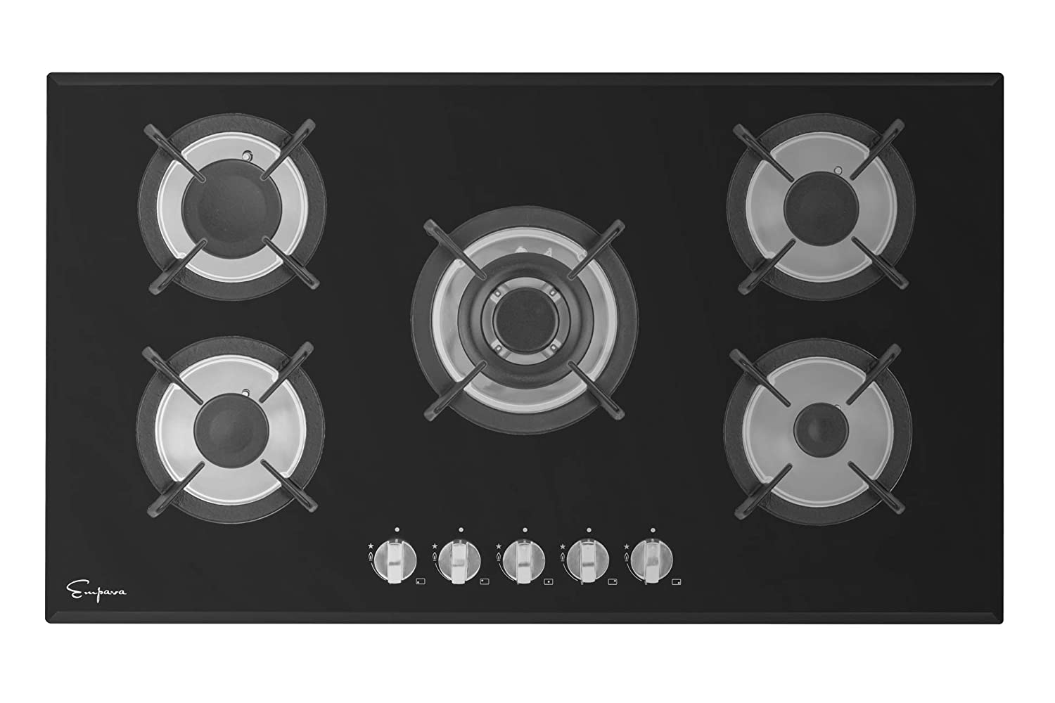Empava EMPV-34GC5L90A Gas Stove Top Cooktop 34 inches Black