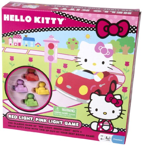 (Pressman Hello Kitty Red and Pink Light Board)