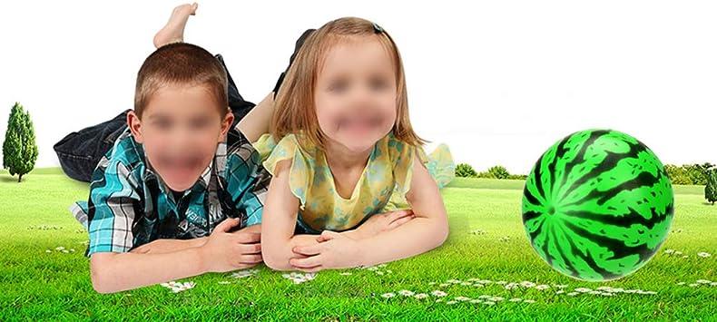20 cm Giocattoli per Bambini Palla Anguria PVC Migliori Regali per Bambino Bambino LIOOBO Palline gonfiabili per Bambini Giocattolo Palla
