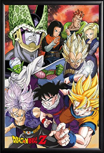 FRAMED Dragon Ball Z - Perfect Cell Saga 24x36 Poster in Rea