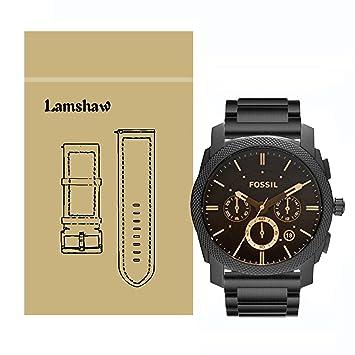 1b5551af4b3 Ceston - Bracelet de montre de rechange FS4656 - Pour montre Fossil - Pour  homme