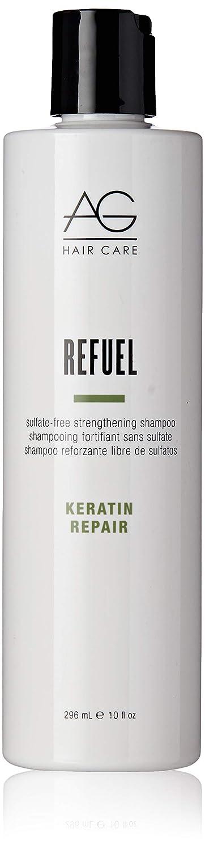 AG Hair Keratin Repair Refuel Sulfate-Free Strengthening Shampoo, 10 Fl Oz