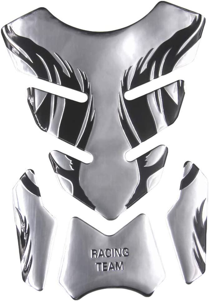 Tank Aufkleber Schutz Aufkleber Gas /Öl Kraftstofftank Pad Schutz PoeHXtyy 3D Motorrad Gas Tankschutz Motorrad Tank Pad