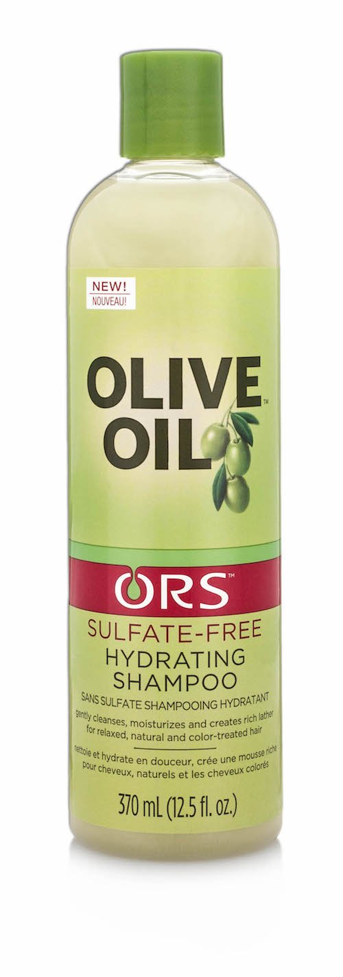 Ors Shampoo Olive Oil Sulfate-Free Hydrating 12.5oz