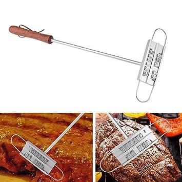 Herramientas para parrilla de barbacoa DIY con sello de ...