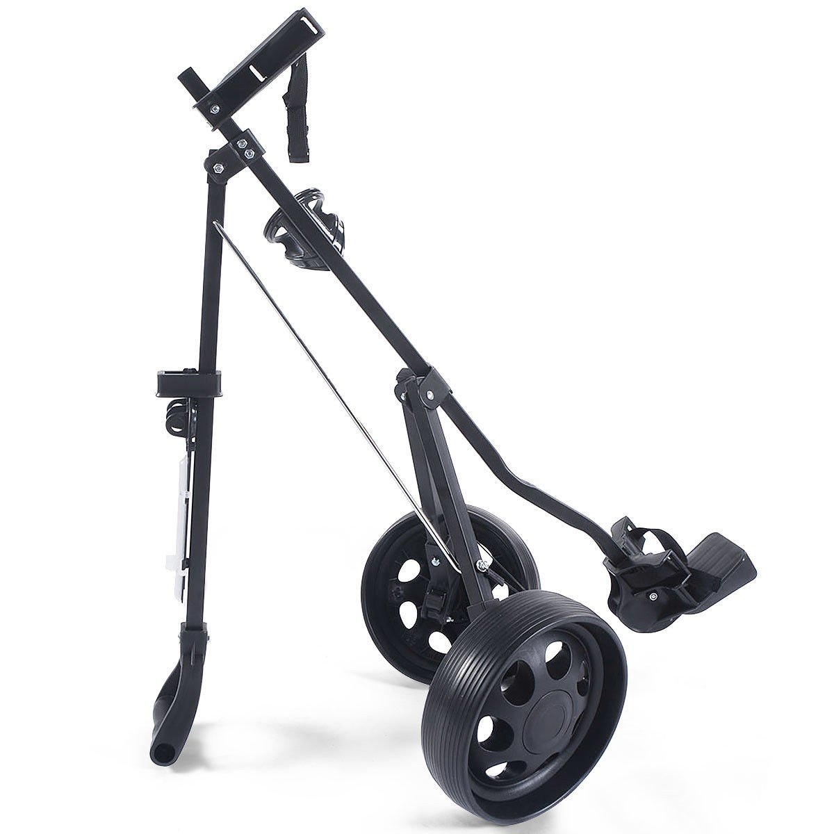 MD Group Golf Cart Holder Trolley Foldable 2 Wheels Push Pull Foldable Design Lightweight Equipment by MD Group (Image #8)