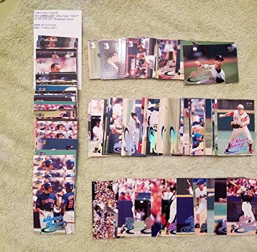 1998 Fleer Corp.®_111 CARD LOT_Ultra Fleer 1999TM STARTER SET Baseball Cards